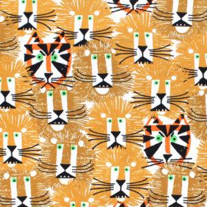Cloud9 Fabrics Ed Emberley Favorites 226501 Lions & Tigers