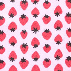 Paintbrush Studio Fabrics Fruity 120-19891 Pink/Red Strawberries