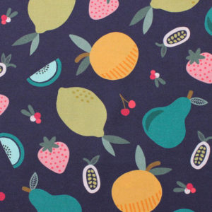 Paintbrush Studio Fabrics Fruity 120-19843 Purple Fruit Toss