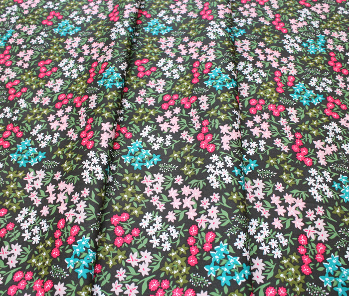 Art Gallery Fabrics Meriwether Forget Me Not Forest