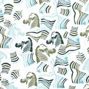 Art Gallery Fabrics Maara Secret Zebra