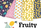 Paintbrush Studio Fabrics Fruity Collection by Maja Faber