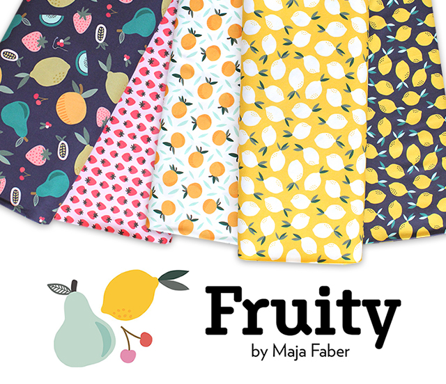 Paintbrush Studio Fabrics Fruity Collection 入荷