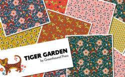 Paintbrush Studio Fabrics Tiger Garden