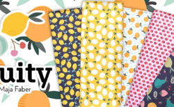 Paintbrush Studio Fabrics Fruity Collection by Maja Faber