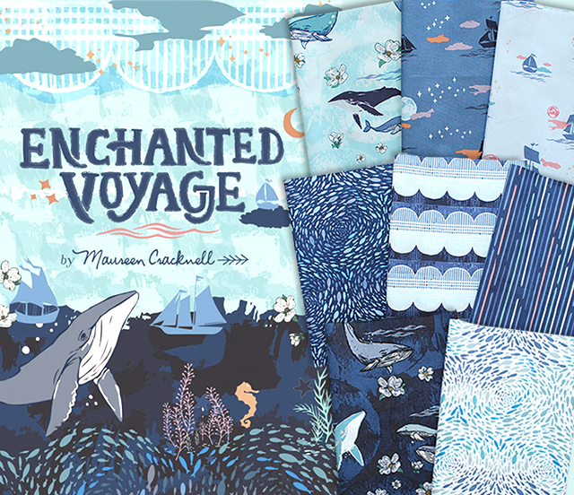 Art Gallery Fabrics Enchanted Voyage Collection 入荷