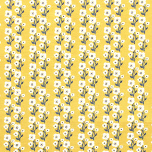 Paintbrush Studio Fabrics Tiger Garden 120-21131 Flowers Gold