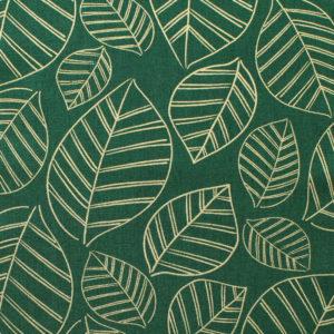 Ruby Star Society Aviary RS5003-15M Leafy Metallic Jade