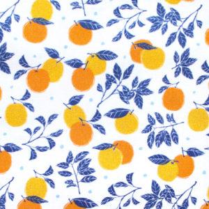 Camelot Fabrics La Dolce Vita 30180601-1 Oranges