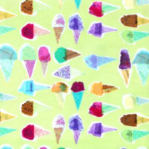Windham Fabrics Sweet Treats 50443-3 Pistachio Waffle Cone