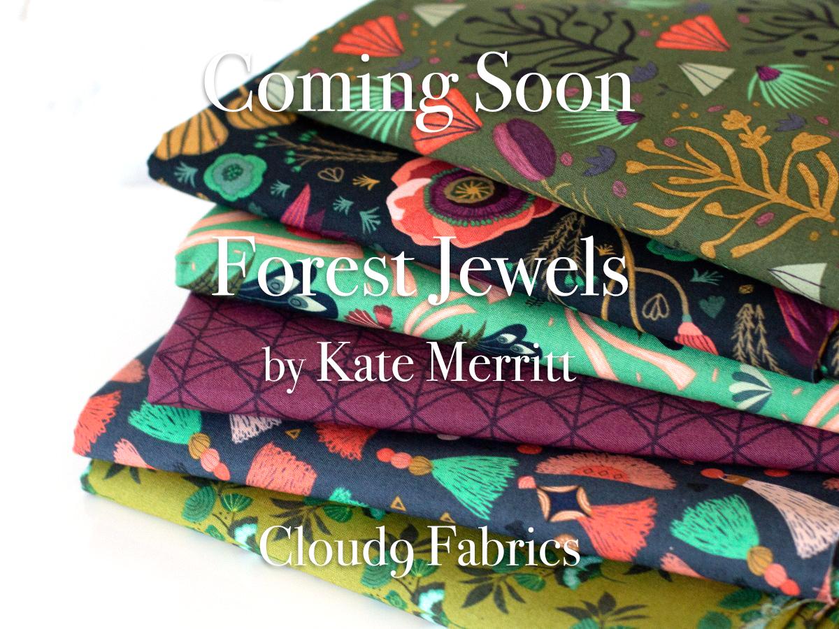 """近日入荷予定 Cloud9 Fabrics """"Forest Jewels"""""""