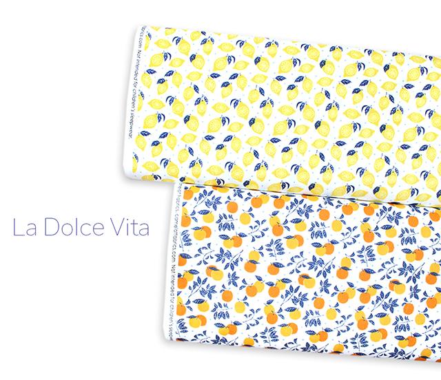 レモン柄・オレンジ柄 USAコットン Camelot Fabrics La Dolce Vita