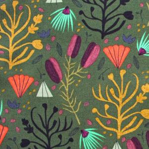Cloud9 Fabrics Forest Jewels 222101 Fallen Fruit