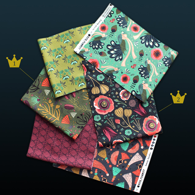 Cloud9 Fabrics Forest Jewels Collection