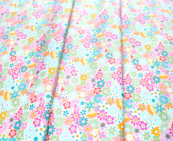 Art Gallery Fabrics Playroom Flowers All Around
