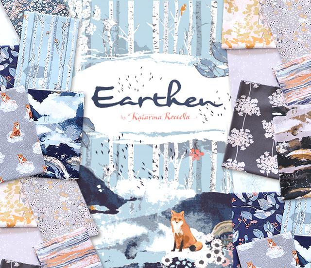Art Gallery Fabrics Earthen Collection 入荷