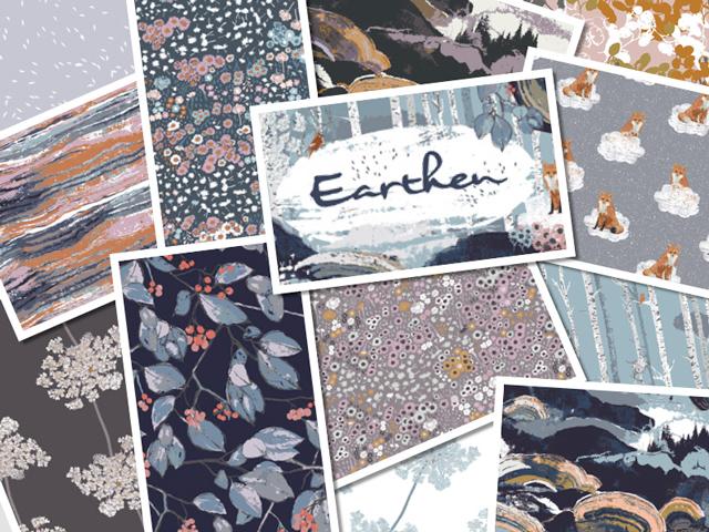 近日入荷予定 Art Gallery Fabrics Earthen Collection