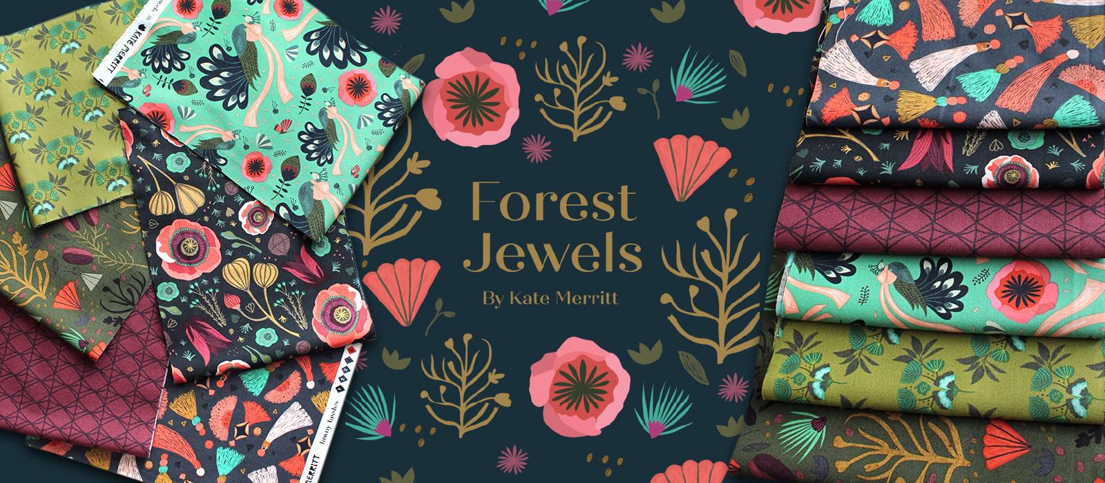 シックでおしゃれ Cloud9 Fabrics Forest Jewels Collection