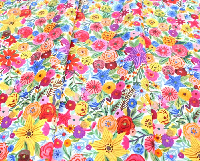 Windham Fabrics Ooh La La White Bouquet