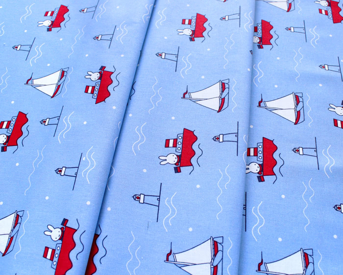 The Craft Cotton Company / Miffy Holiday - Miffy Yacht