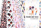 Paintbrush Studio Fabrics Friends and Faces Collection by Carolyn Suzuki