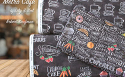 Robert Kaufman Metro Cafe Collection by Lily & Val