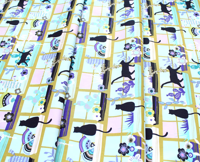 Art Gallery Fabrics Oh, Meow! Purrrlandia