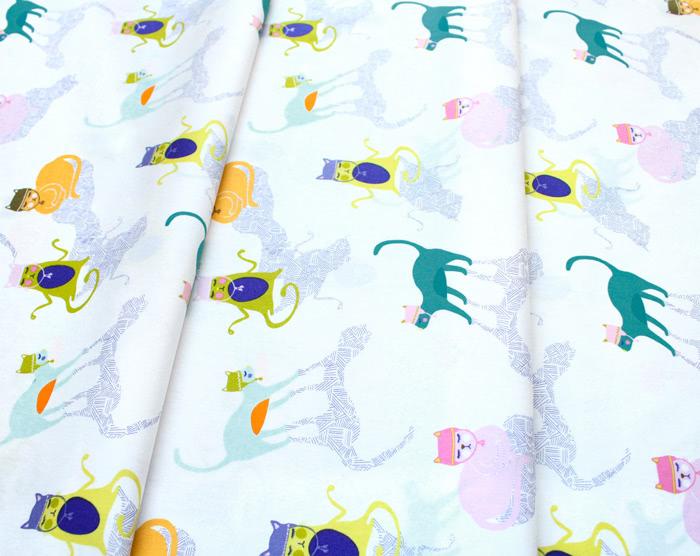 Art Gallery Fabrics Oh, Meow! Kitten Around