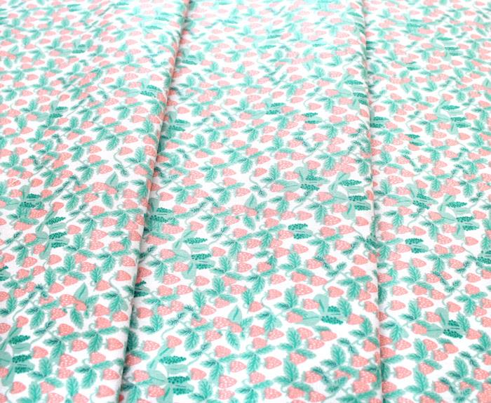 COTTON+STEEL Primavera RP306-BL2 Strawberries Blush