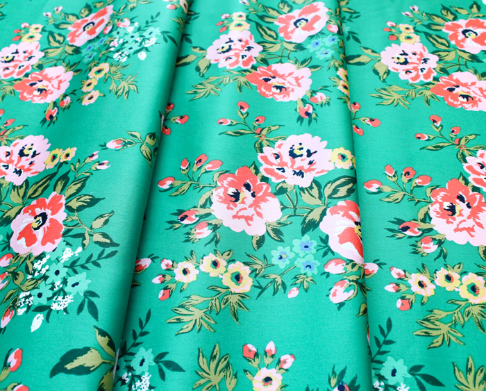 Cloud9 Fabrics Wildflower 226837 Sweet Rose