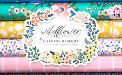 Cloud9 Fabrics Wildflower Collection by Cassidy Demkov