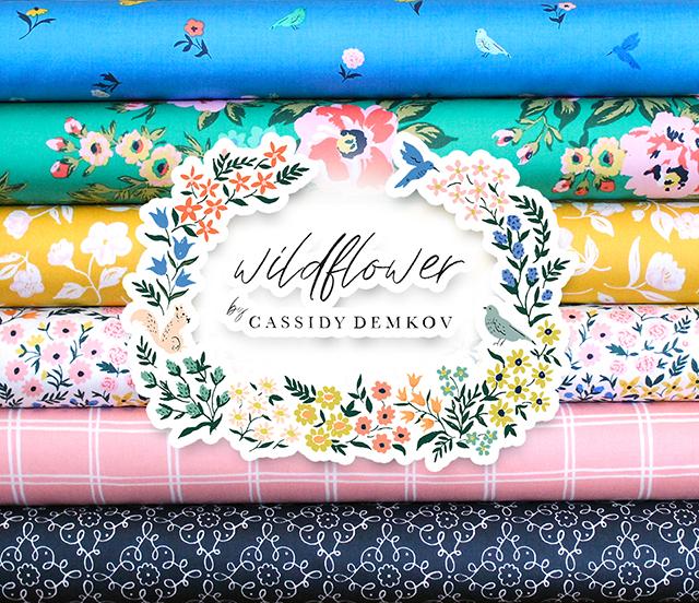 Cloud9 Fabrics Wildflower Collection 入荷