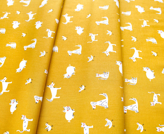 Windham Fabrics Playground 51543-5 Friends Gold
