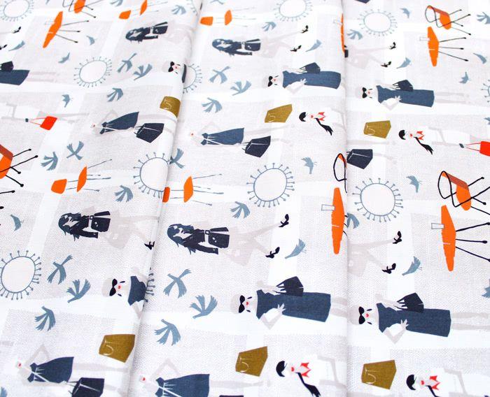 Cloud9 Fabrics Lisbon Square 226943 Passing Through