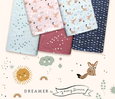 Birch Fabrics Dreamer Collection by Jenny Ronen