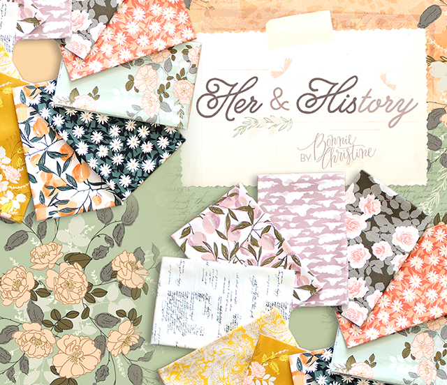 Art Gallery Fabrics Her & History Collection 入荷