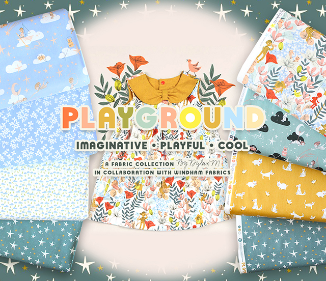 Windham Fabrics Playground Collection 入荷