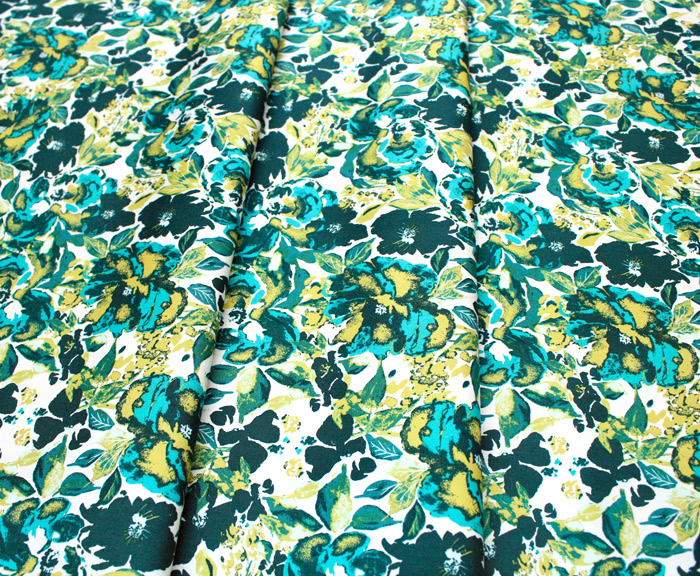 Art Gallery Fabrics 365 Fifth Avenue Dressing Room Teal