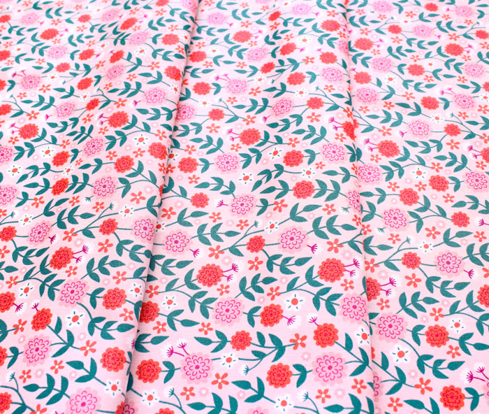 Felicity Fabrics Summer Garden in Watermelon 610030