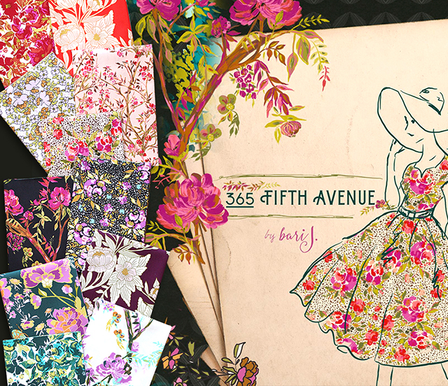 Art Gallery Fabrics 365 Fifth Avenue Collection 入荷