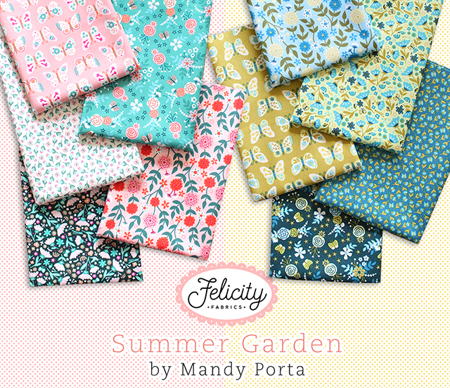 Felicity Fabrics Summer Garden Collection 入荷