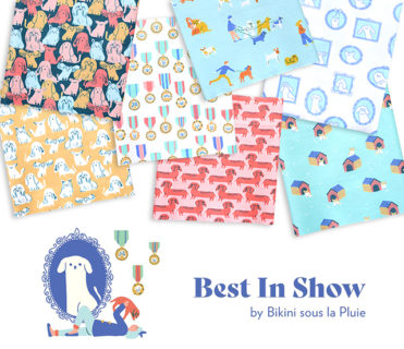 Paintbrush Studio Fabrics Best in Show Collection by Bikini Sous La Pluie