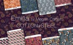 COTTON+STEEL Emilia Collection by Megan Carter