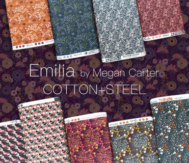 COTTON+STEEL Emilia Collection by Megan Carter