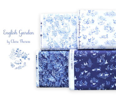 Windham Fabrics English Garden Collection by Clare Therese Gray