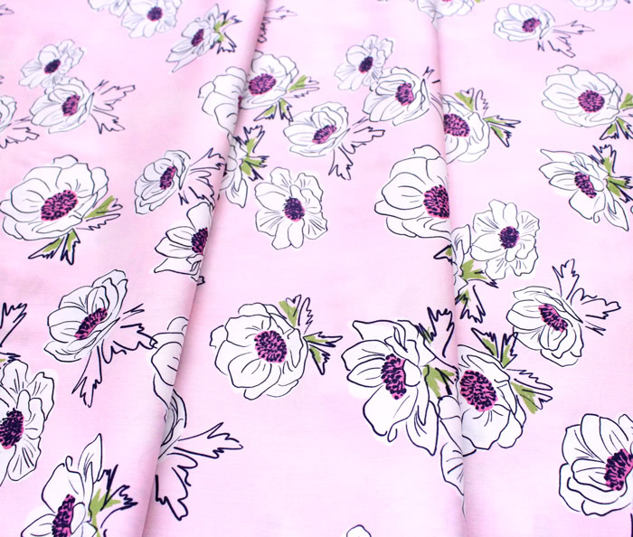 Art Gallery Fabrics Trouvaille Anemone Cascade