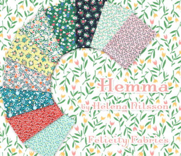Felicity Fabrics Hemma Collection by Helena Nilsson