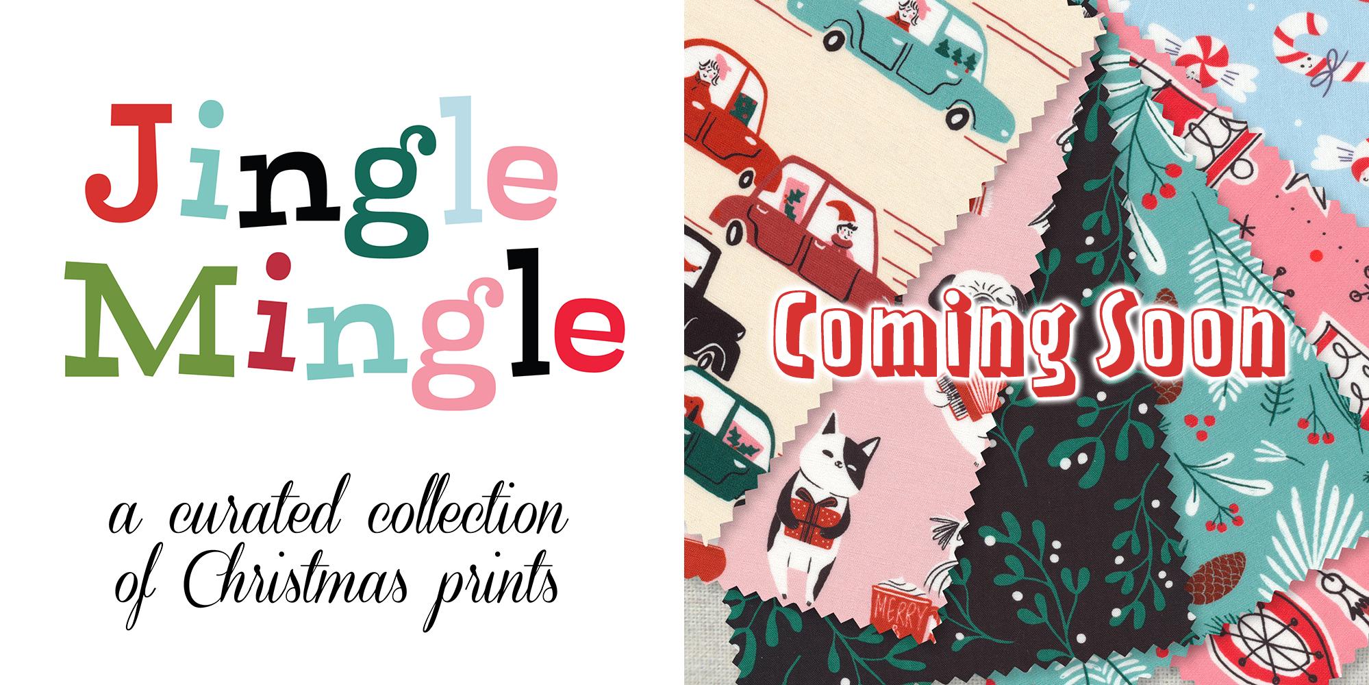 Cloud9 Fabrics Jingle Mingle a Curated Collection