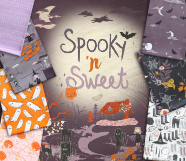 Art Gallery Fabrics Spooky'n Sweet Collection by AGF Studio