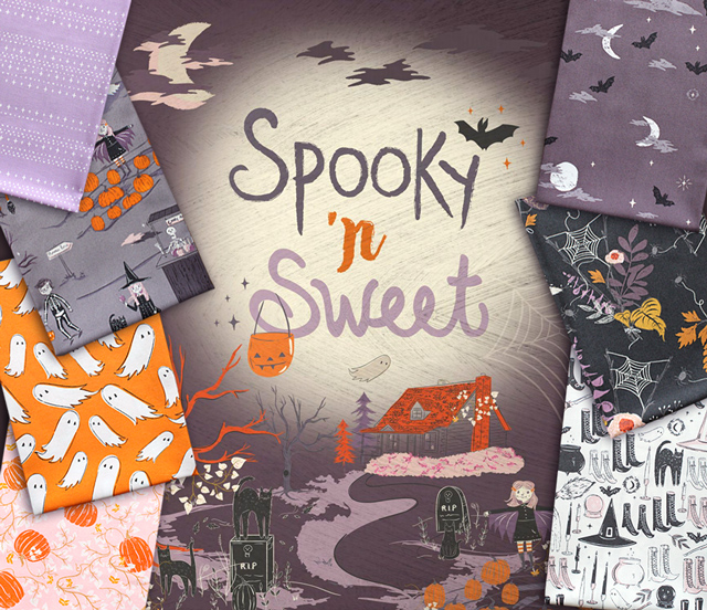 Art Gallery Fabrics Spooky'n Sweet Collection 入荷